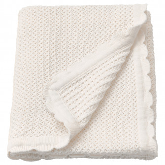 IKEA GULSPARV Patura, alb, 70x90 cm