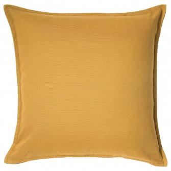 IKEA GURLI Fata perna, auriu-galben, 50x50 cm
