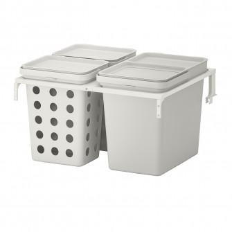 IKEA HALLBAR Solutie sortare deseuri, pentru sertar buc