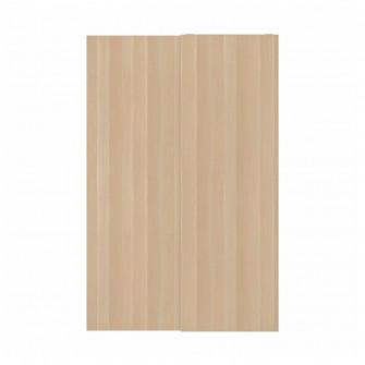 IKEA HASVIK Set usi glisante, aspect stejar antichizat,