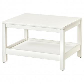 IKEA HAVSTA Masuta cafea, alb, 75x60 cm