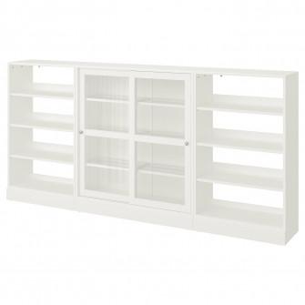 IKEA HAVSTA Combinatie depozitare usi glisante, alb, 28