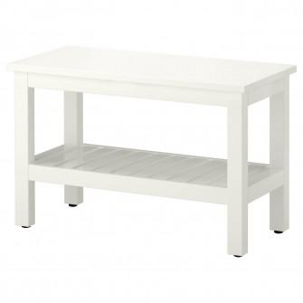 IKEA HEMNES Banca, alb, 83 cm