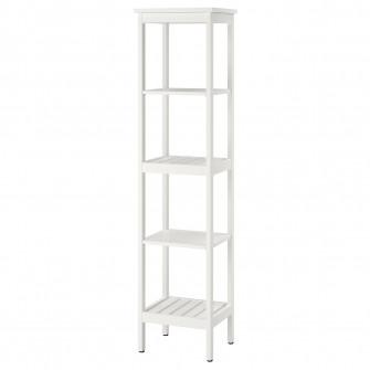 IKEA HEMNES Etajera, alb, 42x172 cm