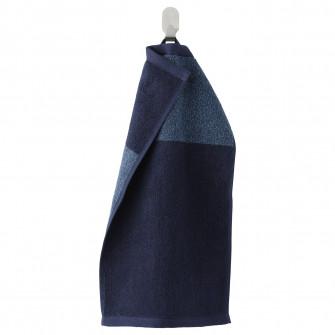 IKEA HIMLEAN Prosop, albastru inchis, melanj, 30x50 cm