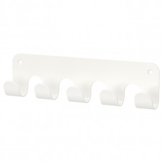 IKEA HJALPA Cuier multifunctional, alb