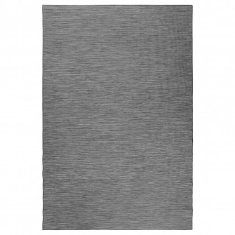 IKEA HODDE Covor tesatura plata, int/ext, gri interior/