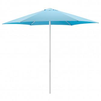 IKEA HOGON Umbrela soare, bleu, 270 cm