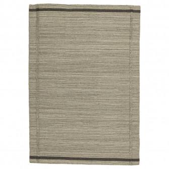IKEA HOJET Covor, tesatura plata, bej manual, bej, 133x