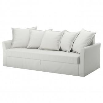 IKEA HOLMSUND Canapea extensibila 3locuri, Orrsta a-gri