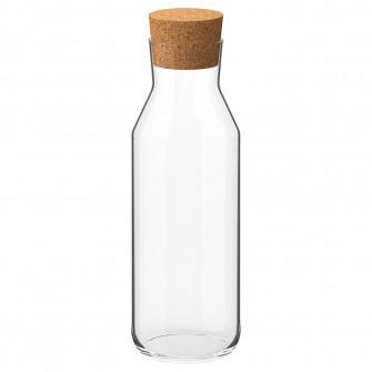 IKEA IKEA 365+ Carafa cu dop, sticla transparenta, plut