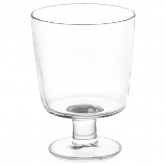 IKEA IKEA 365+ Pahar cu picior, sticla transparenta, 30