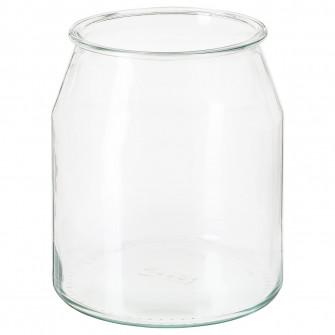 IKEA IKEA 365+ Borcan, rotund, sticla, 3.3 l