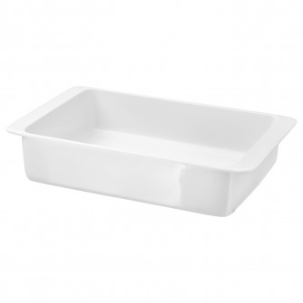 IKEA IKEA 365+ Vas cuptor, alb, 32x20 cm