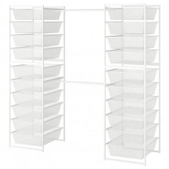 IKEA JONAXEL Cadru/cosuri metalice/bara umerase, 142-17