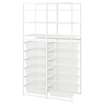IKEA JONAXEL Cadru/cosuri metalice/etajere, 99x51x173 c