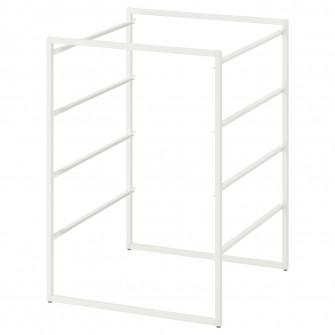 IKEA JONAXEL Cadru, alb, 50x51x70 cm