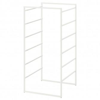 IKEA JONAXEL Cadru, alb, 50x51x104 cm