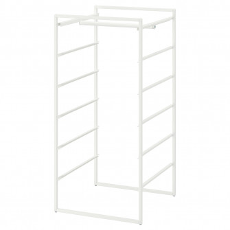 IKEA JONAXEL Cadru+bara umerase, 50x51x104 cm