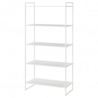 IKEA JONAXEL Etajera, alb, 80x38x160 cm