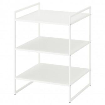 IKEA JONAXEL Etajera, alb, 50x51x70 cm