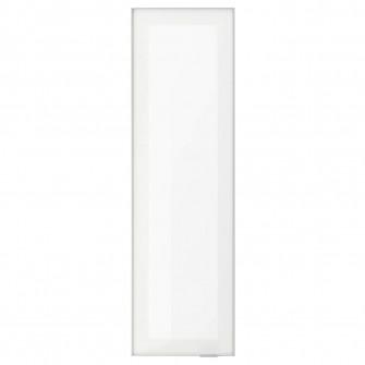 IKEA JUTIS Usa sticla, stcl mt, aluminiu, 30x100 cm