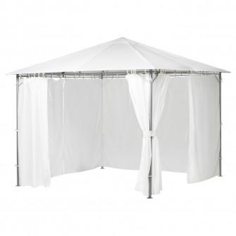 IKEA KARLSO Pavilion, alb, 300x300 cm