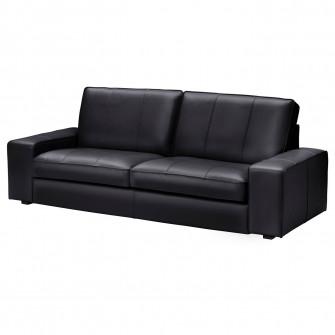 IKEA KIVIK Canapea 3 locuri, Grann, Bomstad negru
