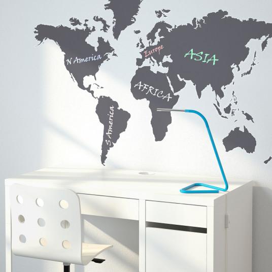 IKEA KLATTA Abtibild, harta tabla de scris, 60x103 cm