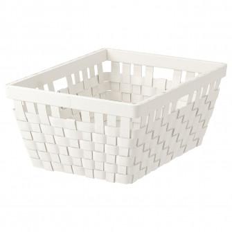 IKEA KNARRA Cos, alb, 38x29x16 cm