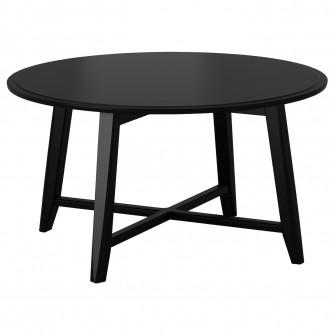 IKEA KRAGSTA Masuta cafea, negru, 90 cm