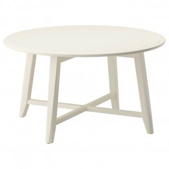 IKEA KRAGSTA Masuta cafea, alb, 90 cm