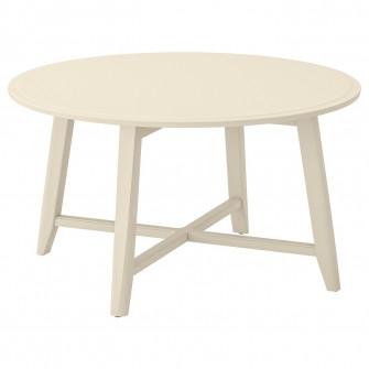 IKEA KRAGSTA Masuta cafea, bej deschis, 90 cm