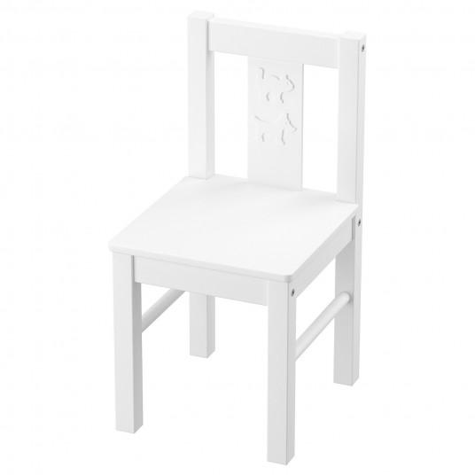 IKEA KRITTER Scaun pentru copii, alb