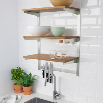 IKEA KUNGSFORS Sina susp+polita/suport magn cutite, ino