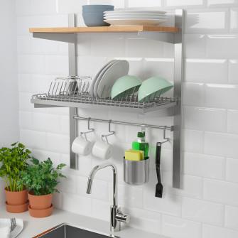 IKEA KUNGSFORS Sina susp+polita/sina/picurator, inox, f