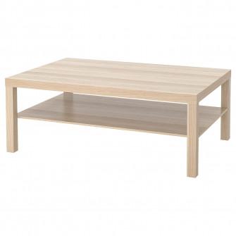 IKEA LACK Masuta cafea, aspect stejar antichizat, 118x7