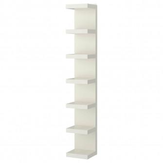 IKEA LACK Etajera suspendata, alb, 30x190 cm
