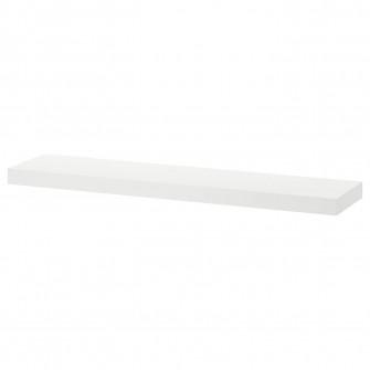 IKEA LACK Polita, alb, 110x26 cm
