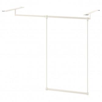 IKEA LATTHET Sina haine pentru cadru, alb, 60-100x55 cm