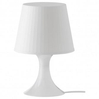 IKEA LAMPAN Veioza, alb, 29 cm