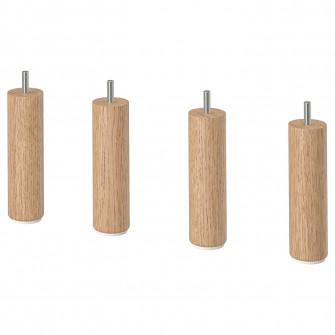 IKEA LANDSKRONA Picior, lemn, 15 cm