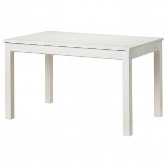 IKEA LANEBERG Masa extensibila, alb, 130/190x80 cm