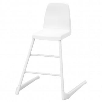 IKEA LANGUR Scaun junior, alb