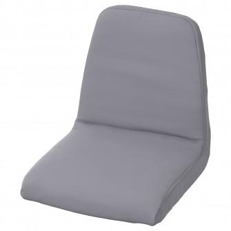 IKEA LANGUR Husa captusita scaun junior, gri