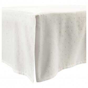 IKEA LENAST Husa patut 1buc, buline, alb, 60x120 cm