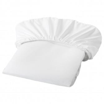 IKEA LENAST Protectie saltea, alb