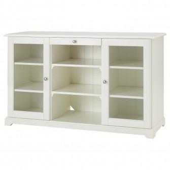 IKEA LIATORP Bufet, alb, 145x87 cm