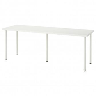 IKEA LINNMON / ADILS Masa, alb, 200x60 cm