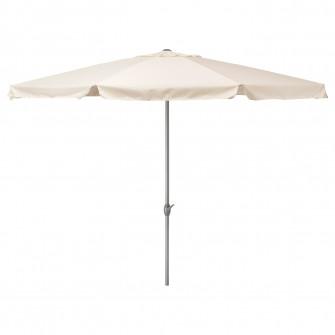IKEA LJUSTERO Umbrela soare, bej, 400 cm